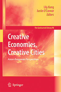 Creative Economies, Creative Cities:   Asian-European Perspectives cover
