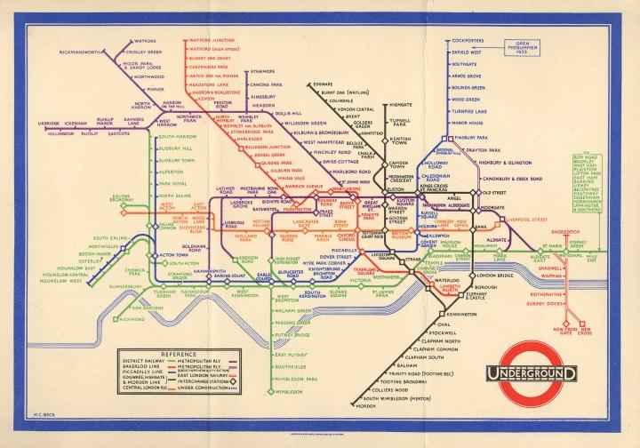 London Underground, 1933