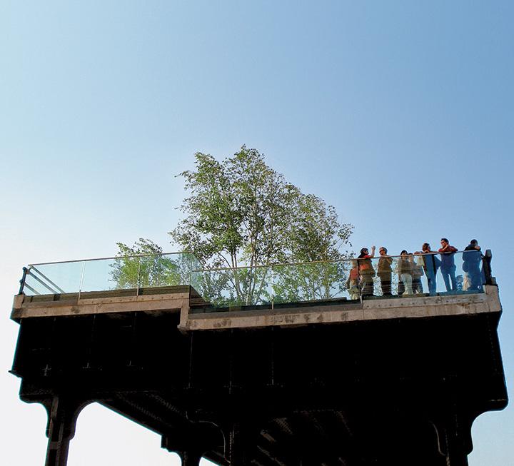 The High Line, Manhattan.