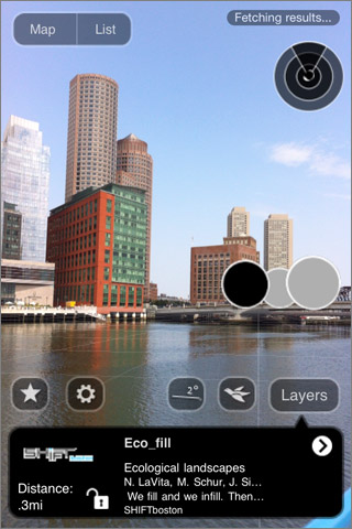Fort Point Channel in Future City Layar App