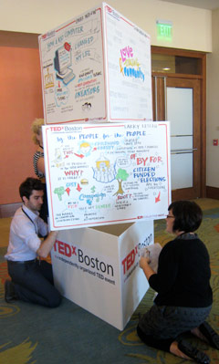 TEDxBoston boards