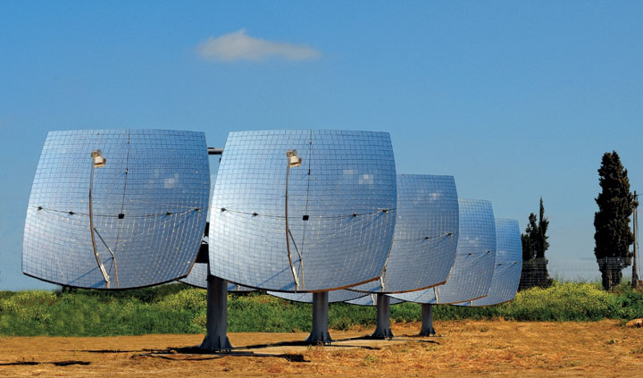 Z-20 Concentrated Solar-Power System