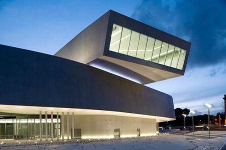 Maxxi Museum, Rome, designed by Zaha Hadid